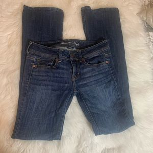 American eagle size 2 tall original boot cut jeans